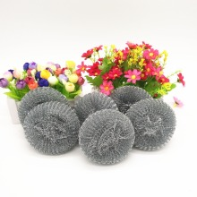 6pcs Galvanized stainless steel scourer/sponge/cleaning ball for Kitchen