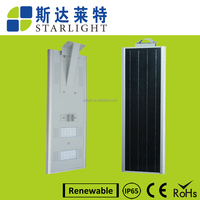 50w green energy power iP65 lithium battery street lighting solar panel manufacturers in china