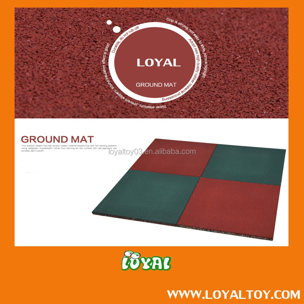 2016 NEW STYLE outdoor ground mat,rubber mat,floor mat with OEM CARTON in low cost