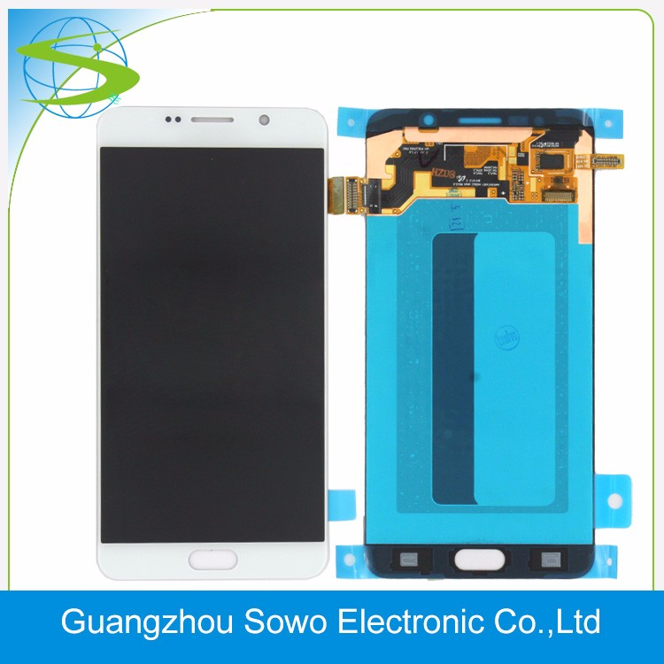 Grade AAA 5.7 Inch LCD for Samsung galaxy note 5 n920 n9200 Clone lcd digitizer with touch screen