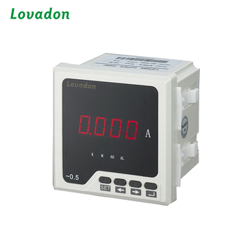 Wenzhou Gold Supplier Electric Current Ampere Meters Single Phase LCD LED Digital Display Panel digital energy Meter