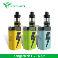 Newest 100% Original e cigarette vape 8mL 222W Kanger FIVE 6 Kit