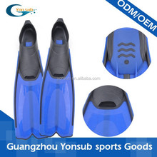 plastic diving fins