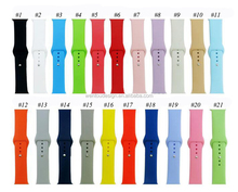 Wholesale Solid Color Silicone Apple Watch Band