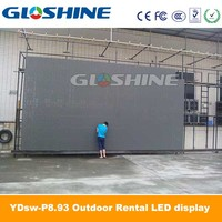 led display outdoor advertising video screen/led dance screen/stage led dance floor led display