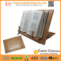 Wooden Bamboo Holy Book Reading Bible