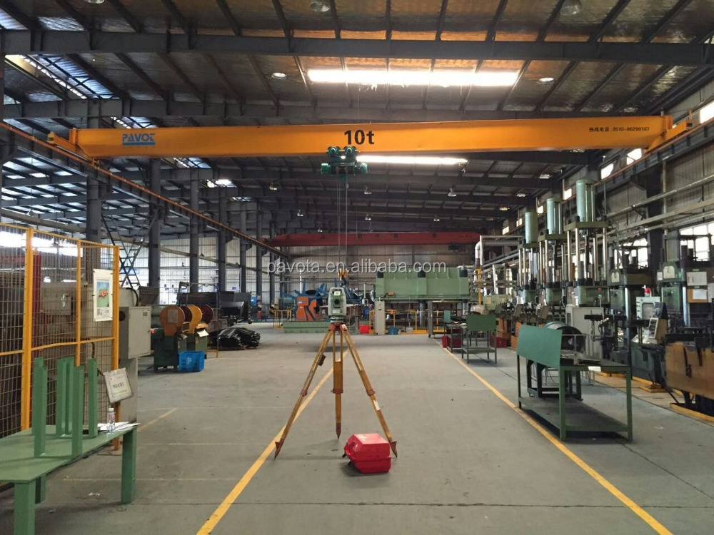 20Ton And Below Electric Single Beam Bridge Crane