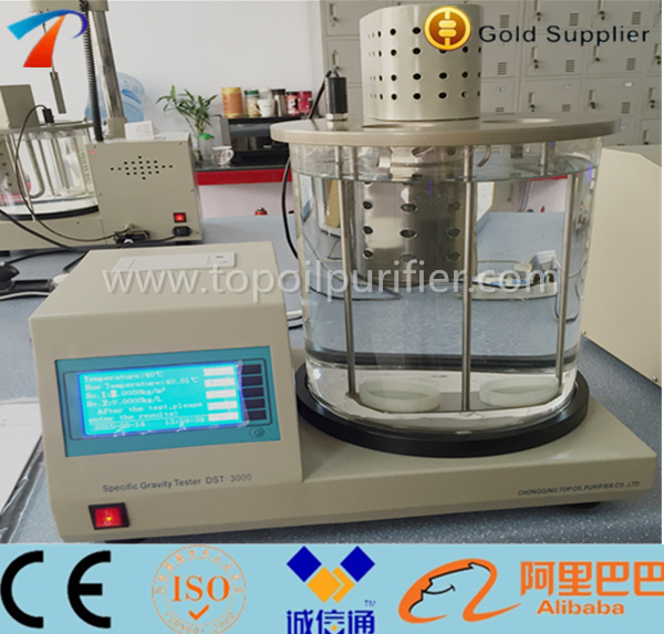 Precise digital oil density meter automatic liquid crude oil density measuring device