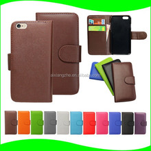 PU Leather Wallet Waterproof case For Samsung Galaxy S4 case ,case for samsung c6712, metal case for samsung galaxy s4 mini