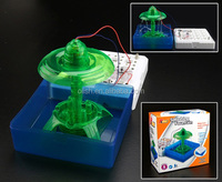 Electronic Splashing Fountain DIY Education Science Toy Kits