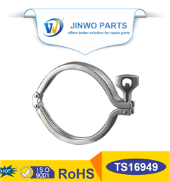 High pressure T bolt hose clamps
