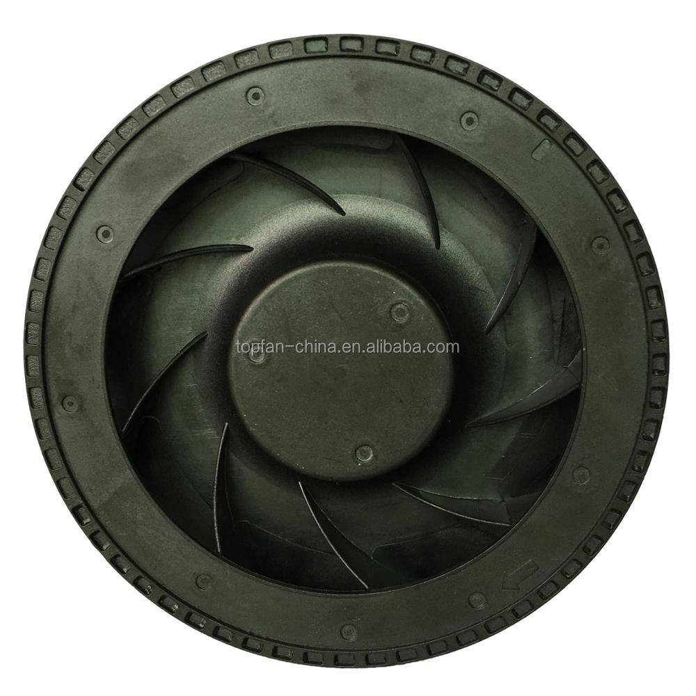 High Flow 4 inch DC Brushless Centrifugal Fan 12V / 24V 100x25mm