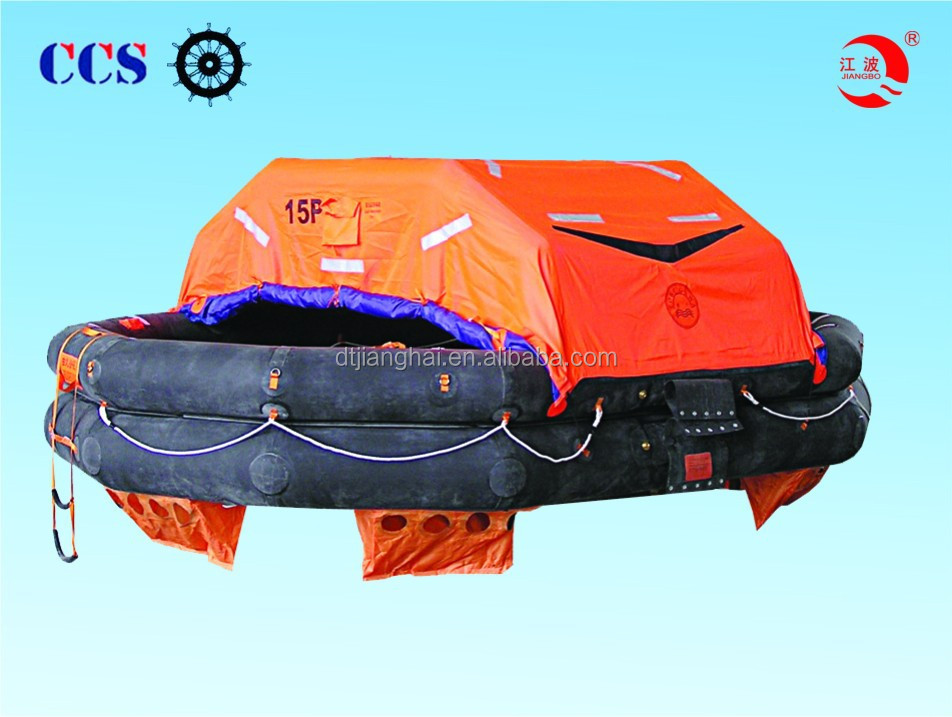 Solas approved GFRP life raft container