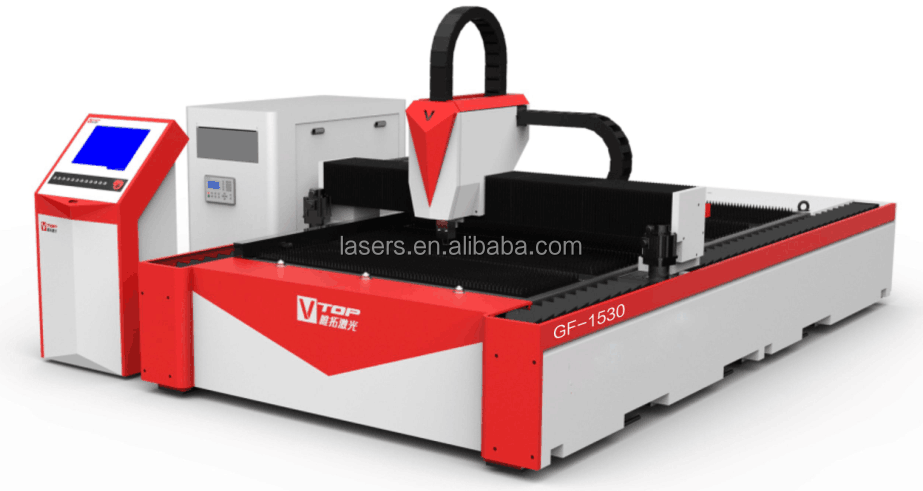 CNC Galvanized/Carbon/Mild/Stainless Steel Laser Cutting Machine 500w 700w 1000w