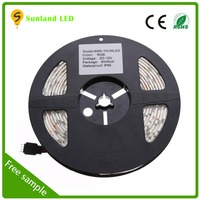 Cheap price 5m 36w rgb 50000hours ip65 150led CE ROHS smd led strip 7020