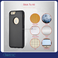For iPhone 6/6s plus 5.5inch Anti gravity adsorption pc silicone phone case cover