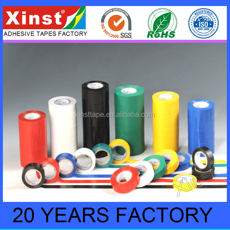 Equal To 3M Vinyl Electrical Tape PVC Electrical Insulation Tape