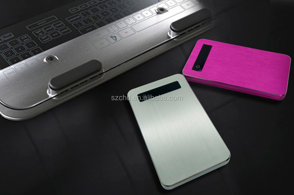 2016 New portable power bank 5000 mah portable battery charger mobile power