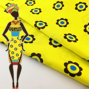 Best sales African Bright Colored Print Fabric