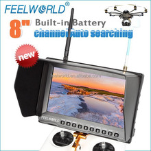 "8"" professional peaking focus assist lcd monitor camera mode 5.8 ghz wireless"