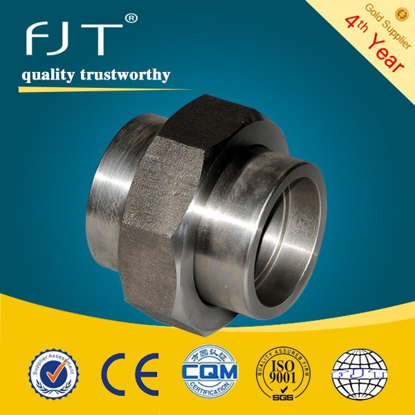 ASTM a105 forged pipe fitting pipe union dimensions
