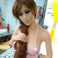 Factory supply 158CM tpe sex doll silicone with Metal Skeleton Adult Sex toys Doll For Making Love with big breast