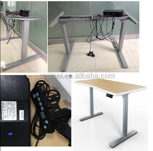 one motor electric height adjustable desk lifting desk electric adjustable stand up desk