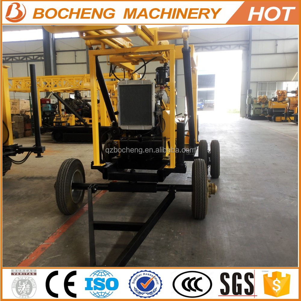 China land drilling rigs for sale/electrical water well drilling rig