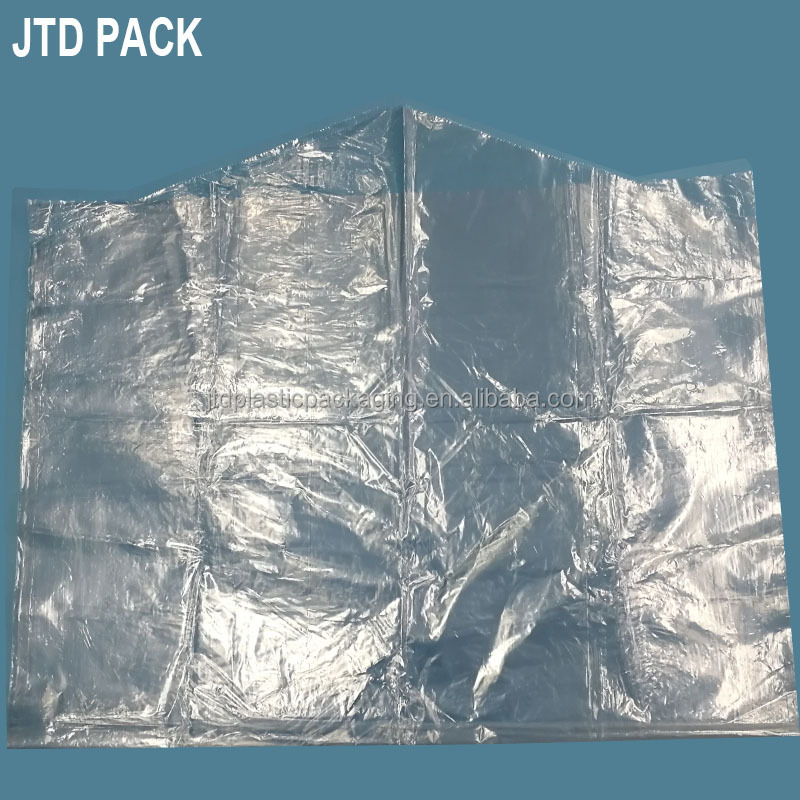 Qingdao JTD Manufacturer Wholesale Cheap Clear Garment Cover Plastic Bags