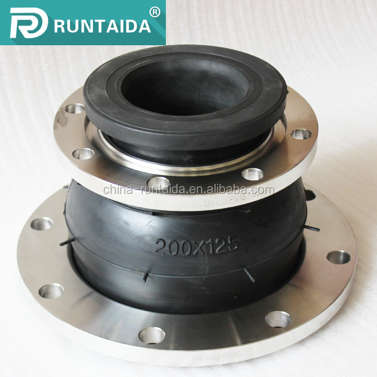 Hot sale Eccentric reducer type flexible rubber expansion joint