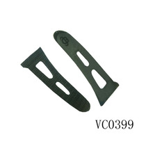 Top sale durable sleeve tab rubber strip fastener PVC cuff tab