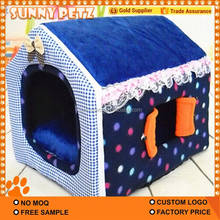 Kennel With Window Collapsible Dog House For Pets
