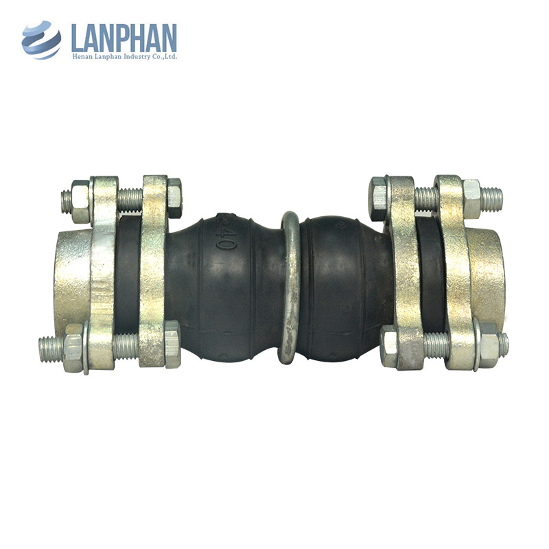 Brand New NPT BSPT Union Threaded Double Sphere Screwed Rubber Expansion Joints
