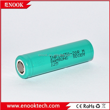Professional 18650 Samsung-20r 2000mah battery li-ion battery power cells for ryobi& provari mod