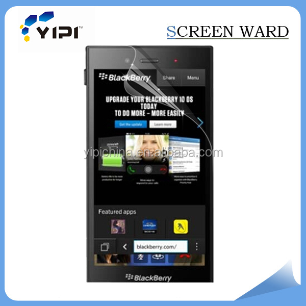 high quality!!!clear mobile phone screen protector for BlackBerry Z3