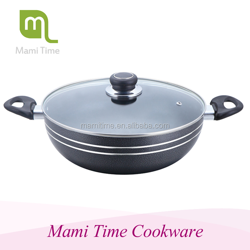 cheap price aluminium set cookwears gold supplier