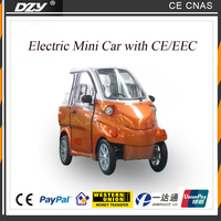 Chinese family used traveling mini electric car with CE EEC Certification