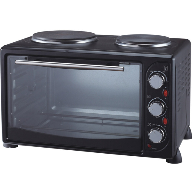 Cheap price best quality drying electric toaster oven with two hotplate