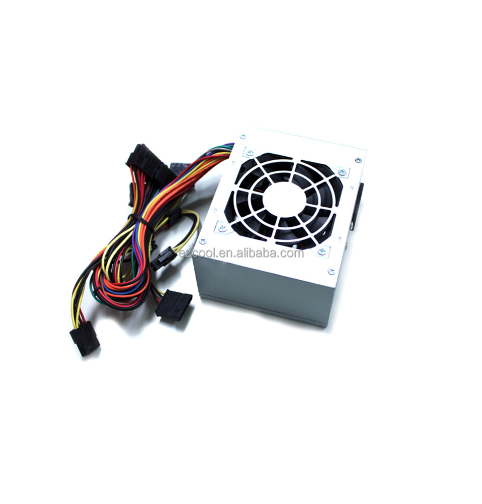 Slient and stable 200W-450W Wwith 80mm fan Micro SFX power supply ac/dc