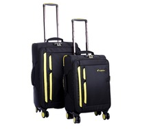 Newly design wholesale luggage trolley /frbic lightweight suitcase children travel trolley luggage bag/watetproof luggage/