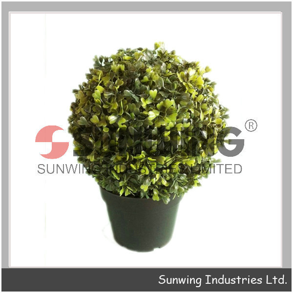 Artificial Boxwood Buxus Topiary modern plastic boxwood ball