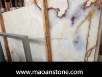 Polished White Marble Onyx Tile And Slab