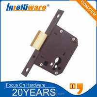 Steel door lock body with single deadbolt LT9012---- ART.1K190