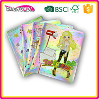 FACTORY price A4 paper plastic folder with zipper