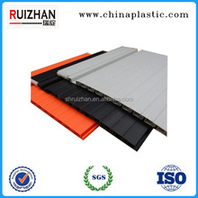 Wood and steel plastic roller shutter door for office file cabinet, tambour door