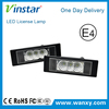 E-mark CE ROHS IP67 E63/E63N,E64/E64N,E81/E87/E87N E85(Z4 roadster) E86(Z4 coupe) Mini R55 auto led license plate led car lamp