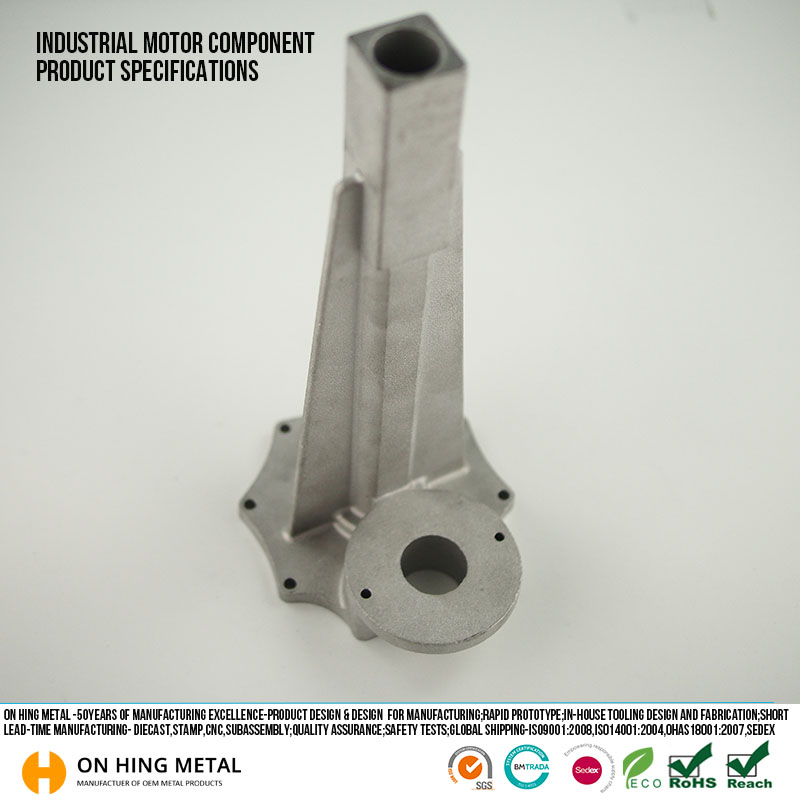 alu zinc alloy auto parts die casting motorcycle parts