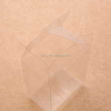 Custom clear plastic PVC/PET pillow boxes with hang hole,clear free sample for custom pillow boxes with custom