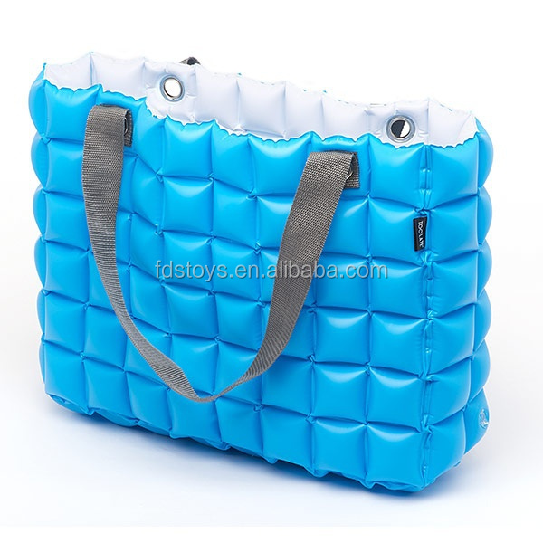 2015 plastic inflatable fashion tote bag