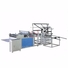 PE Bubble film bag making machine with two folder